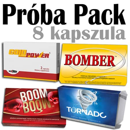 próba pack gold power bomber tornado boom boom