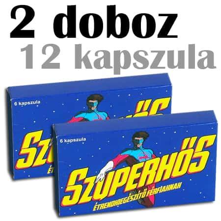 szuperhős potencianövelő 2 doboz