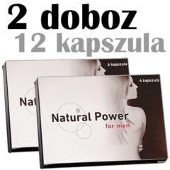 natural power potencianövelő 2 doboz