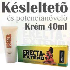 erecta extend késleltető és potencianövelő krém