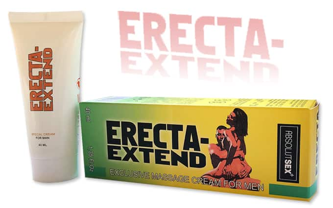 erecta extend magömlés késleltető és potencianövelő krém