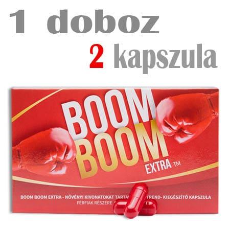 boom boom extra potencianövelő kapszula