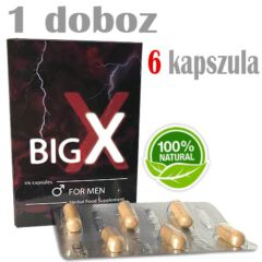 big x for men potencianövelő 1 doboz