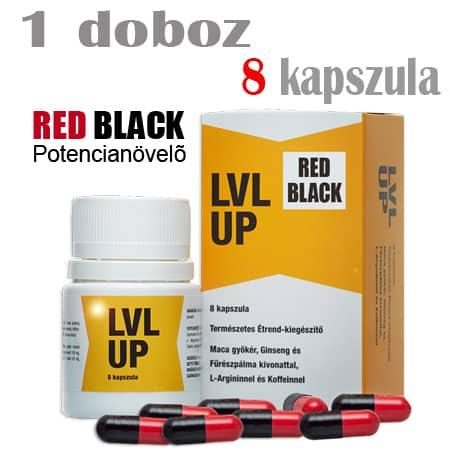 RED BLACK (Lvl Up) potencianövelő 1 doboz