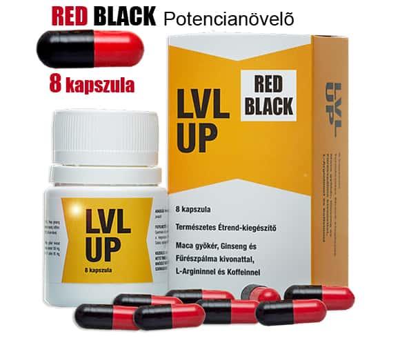 RED BLACL (Lvl Up) potencianövelő