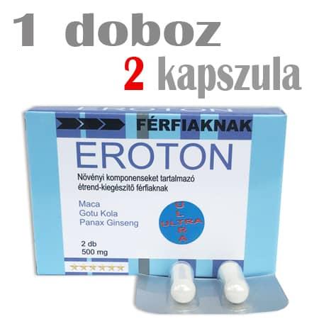 eroton ultra potencianövelő 1 doboz