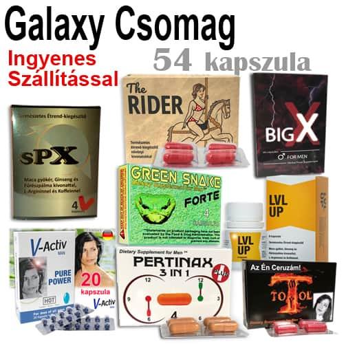 Galaxy Próba Csomag – Ingyenes szállítással!