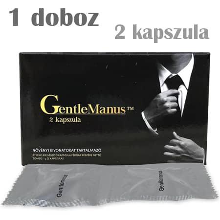 Gentlemanus potencianövelő 1 doboz