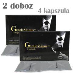 Gentlemanus potencianövelő 2 doboz